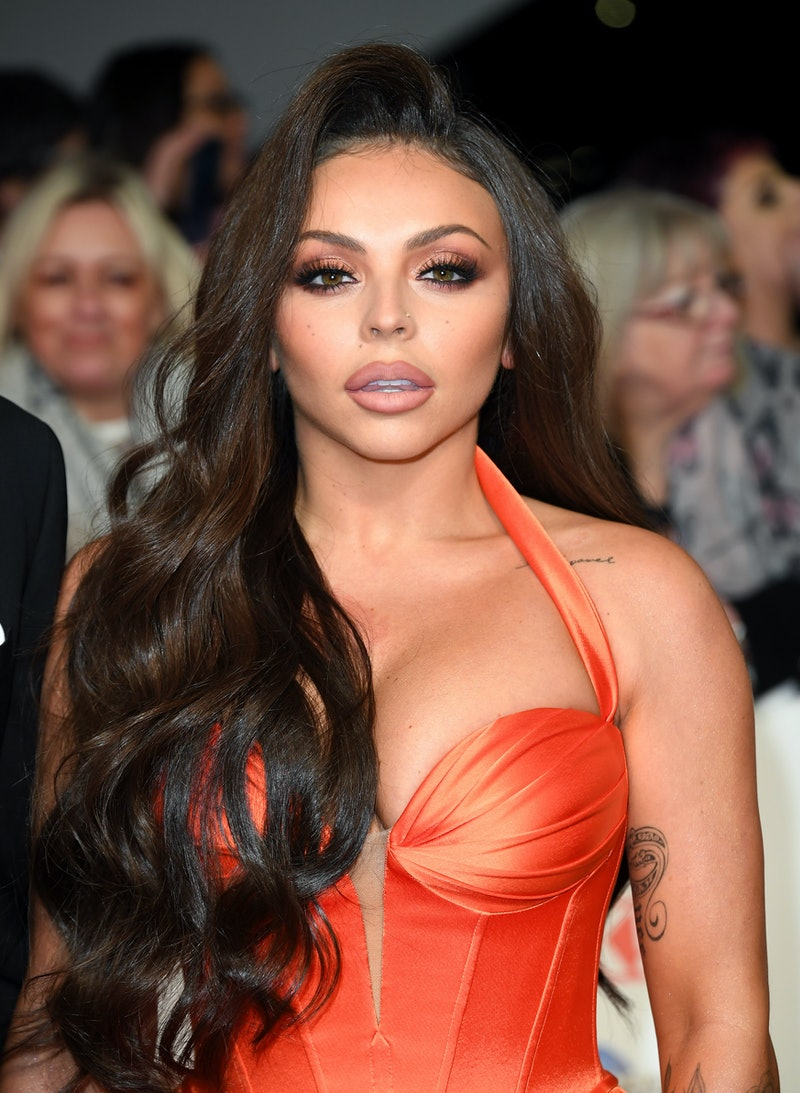 LONDON, ENGLAND - JANUARY 28: Jesy Nelson attends the National Television Awards 2020 at The O2 Aren...