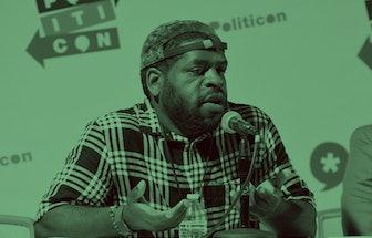 PASADENA, CA - JULY 29: Hanif Willis-Abdurraqib at the 'Fatherhood, Community, and Our Cities' panel...