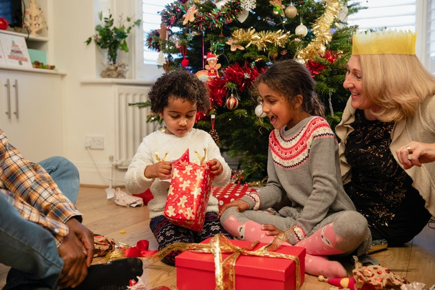 Families commonly fight over how kids should be have at the holidays.