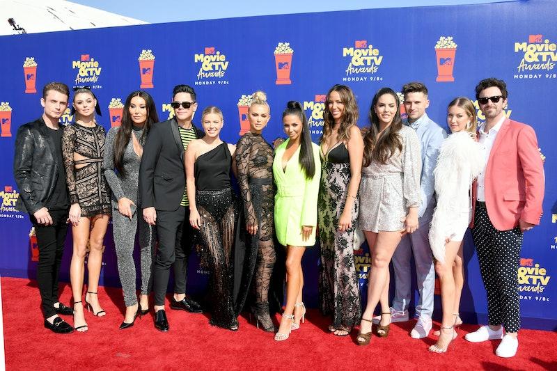 SANTA MONICA, CALIFORNIA - JUNE 15: 'Vanderpump Rules' cast attend the 2019 MTV Movie and TV Awards ...
