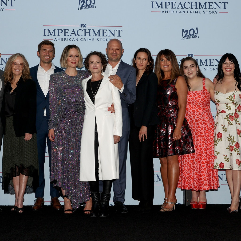 The Cast Of 'Impeachment: American Crime Story' vs Their Real-Life Counterparts. Photo via Kevin Win...