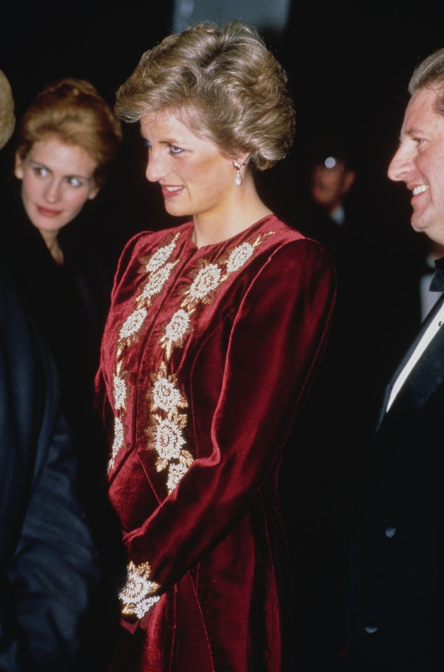Princess Diana and Prince Charles attended the premiere of 'Steel Magnolias.'