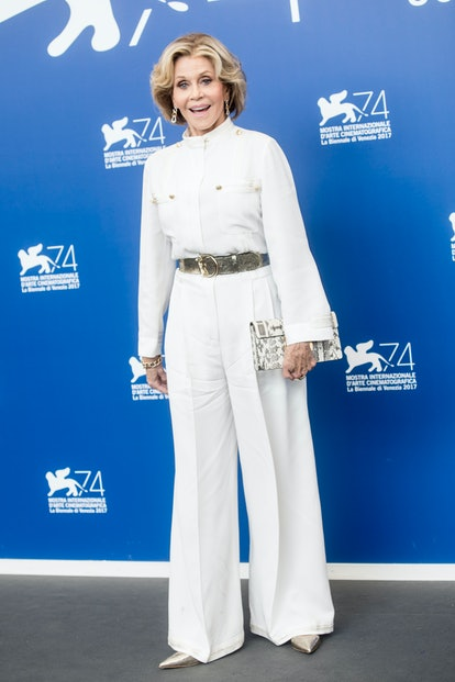 Jane Fonda attends the 'Our Souls At Night' photocall during the 74th Venice Film Festival at Sala C...