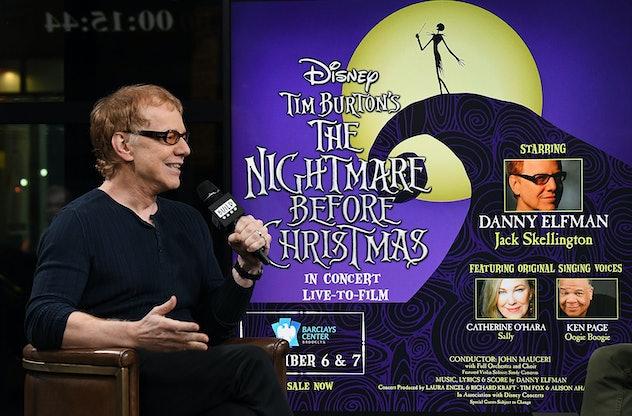 Danny Elfman sang as Jack Skellington.