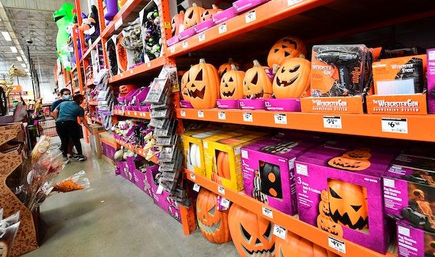 Tim Burton found the mash-up of Halloween and Christmas intriguing.