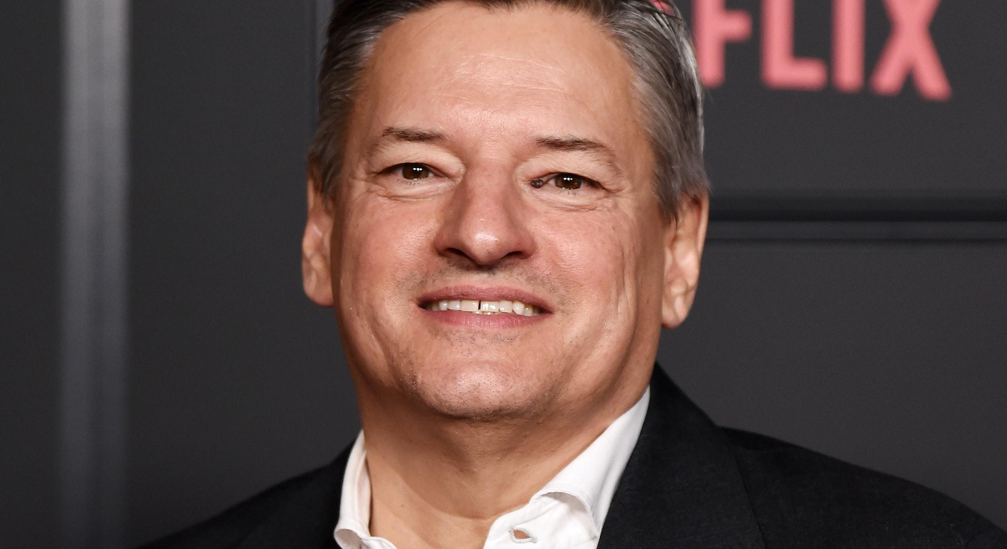 "HOLLYWOOD, CALIFORNIA - FEBRUARY 05: Ted Sarandos attends Netflix's ""Locke & Key"" Series Premiere Ph..."