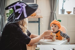 Celebrate spooky season with these Halloween treats for babies.