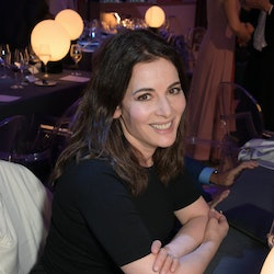 """LONDON, ENGLAND  - MAY 09:  Nigella Lawson attends a private view of """"Stanley Kubrick: The Exhibitio..."""