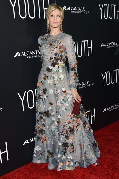"""Jane Fonda attends the premiere of Fox Searchlight Pictures' """"Youth"""" at DGA Theater in Los Angeles, ..."""