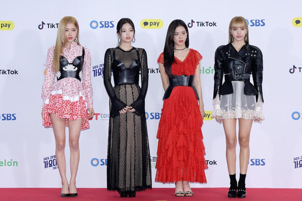 سئول ، کره جنوبی - 25 دسامبر: BLACKPINK در