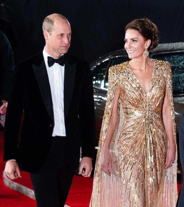 LONDON, ENGLAND - SEPTEMBER 28: Catherine, Duchess of Cambridge and Prince William, Duke of Cambridg...