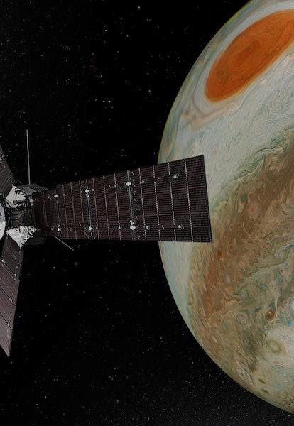 Where: Studio/office – Chino Hills, CA USA  When: 06-10-2021 Jupiter NASA URL- https://photojournal....