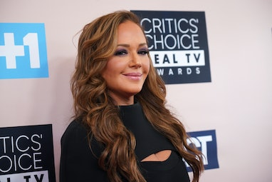 BEVERLY HILLS, CALIFORNIA - JUNE 02:  Leah Remini attends the Critics' Choice Real TV Awards on June...