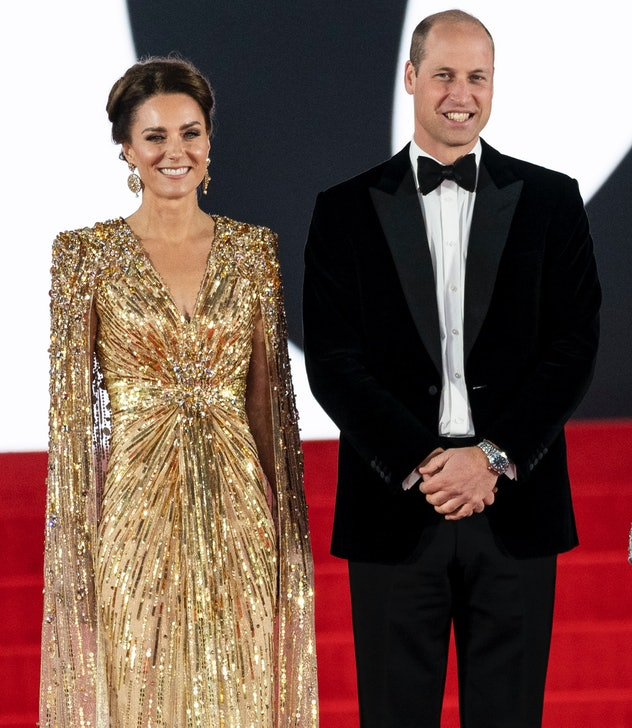 Kate Middleton attended the premiere of the new Bond movie with Prince William.