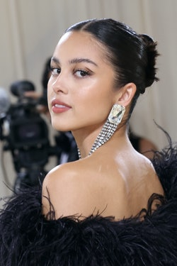 "NEW YORK, NEW YORK - SEPTEMBER 13: Olivia Rodrigo attends the 2021 Met Gala benefit ""In America: A L..."