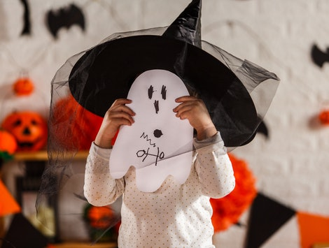These ghost decorations are great for any Halloween home.