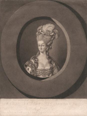 Marie Antoinette d'Autriche Reine de France, John Raphael Smith, 1752–1812, British, after John Raph...