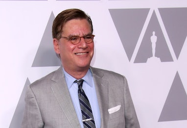 BEVERLY HILLS, CA - FEBRUARY 5: Writer/Director Aaron Sorkin attends the 90th Annual Academy Awards ...