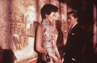 374948 09: Maggie Cheung, left, stars as Li-zhen and Tony Leung stars as Chow in the Wong Kar-Wai fi...