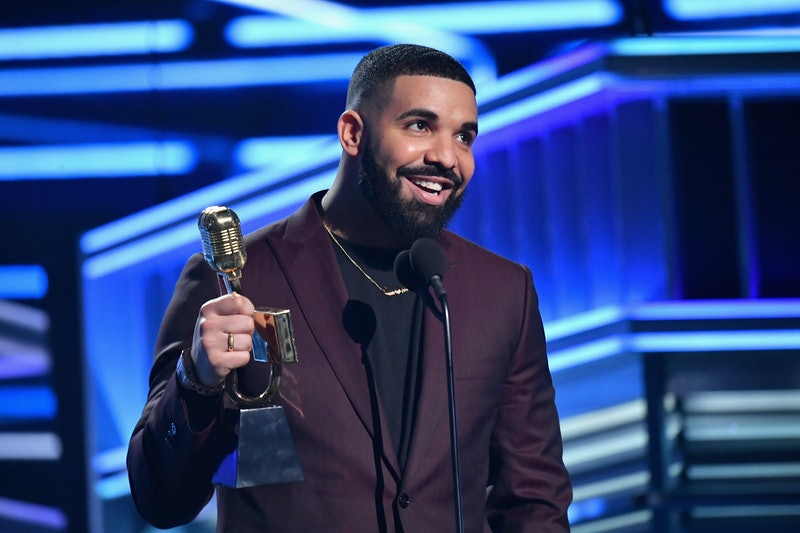 LAS VEGAS, NV - MAY 01:  Drake accepts Top Artist onstage during the 2019 Billboard Music Awards at ...