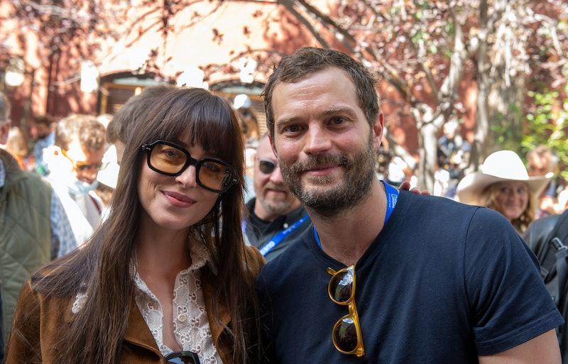 TELLURIDE, COLORADO - SEPTEMBER 04: Dakota Johnson and Jamie Dornan attend the Telluride Film Festiv...