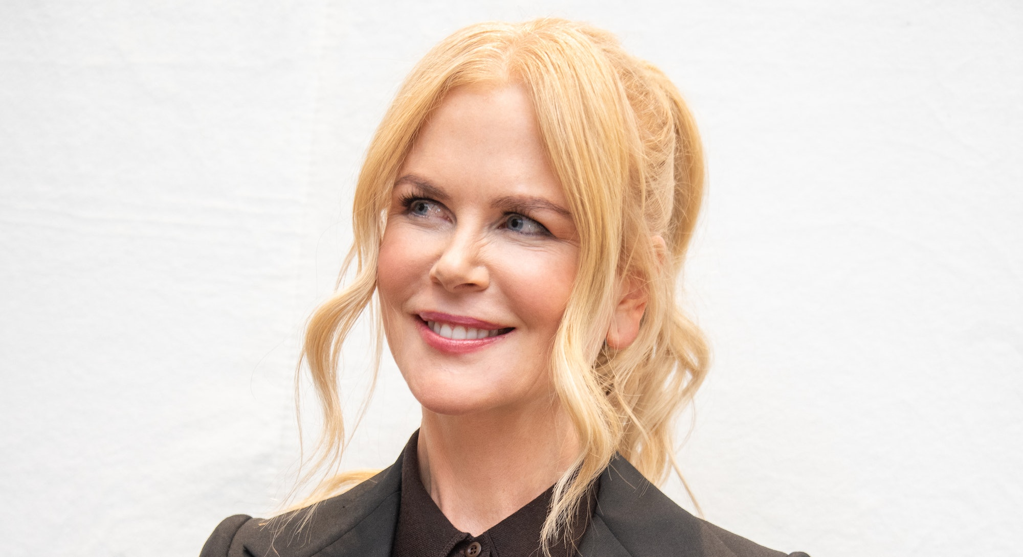 """BEVERLY HILLS, CALIFORNIA - NOVEMBER 02: Nicole Kidman at the """"Bombshell"""" Press Conference at the Fo..."""