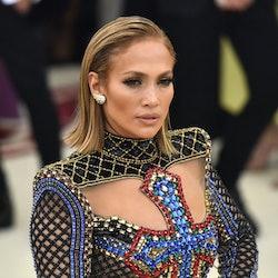 7 of Jennifer Lopez's best Met Gala hairstyles.