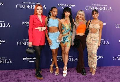 "LOS ANGELES, CALIFORNIA - AUGUST 30: attends the Los Angeles Premiere of Amazon Studios' ""Cinderella..."