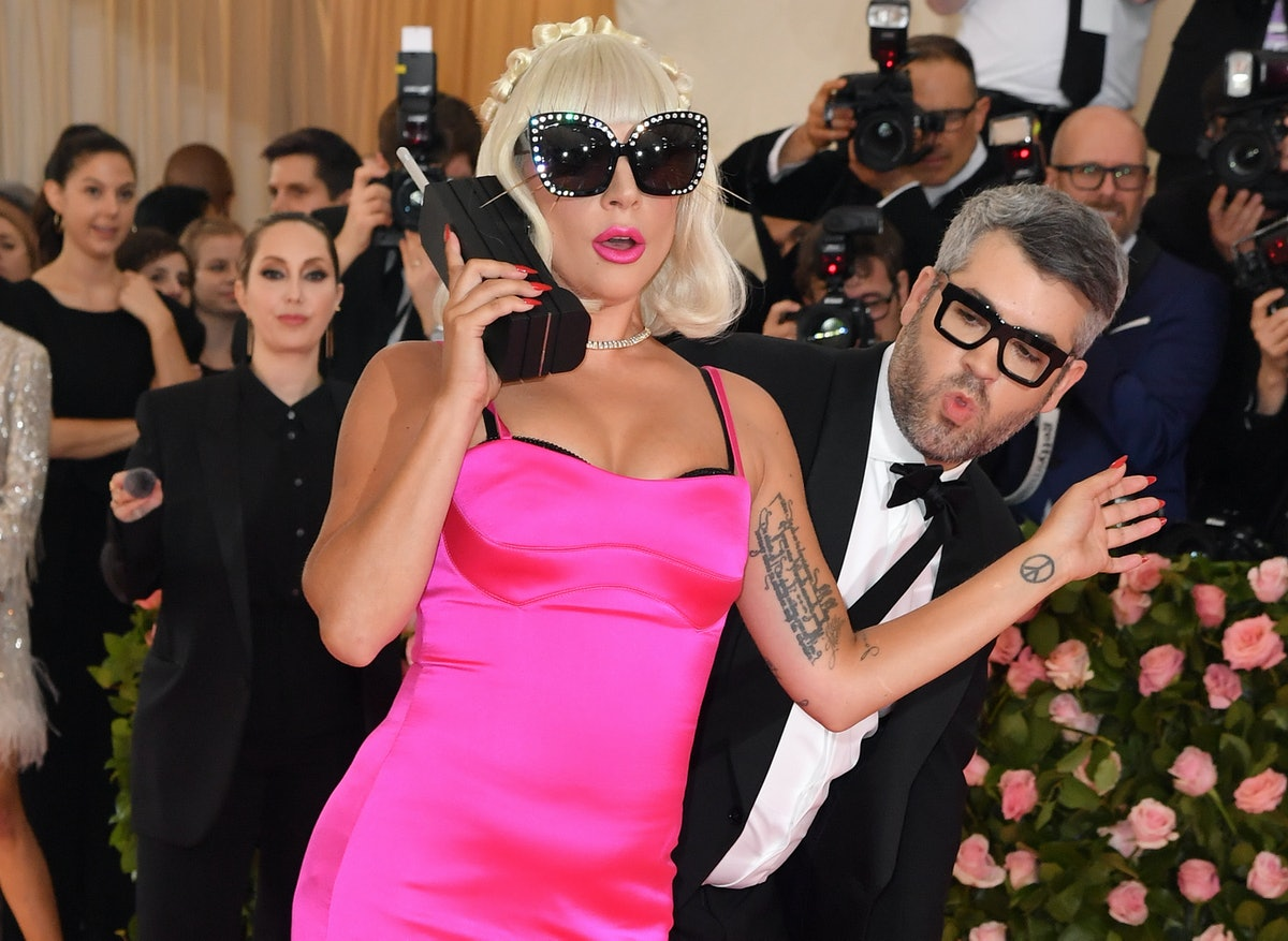Singer/actress Lady Gaga arrives for the 2019 Met Gala at the Metropolitan Museum of Art on May 6, 2...