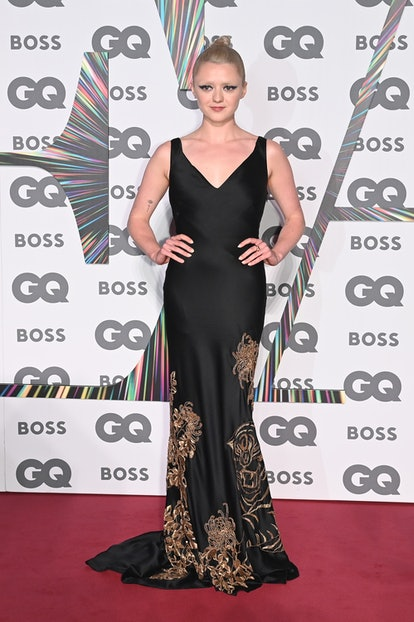 LONDON, ENGLAND - SEPTEMBER 01:   Maisie Williams attends the 24th GQ Men of the Year Awards in asso...