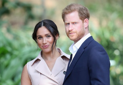 Dress as celebrity couple Meghan Markle and Prince Harry for Halloween