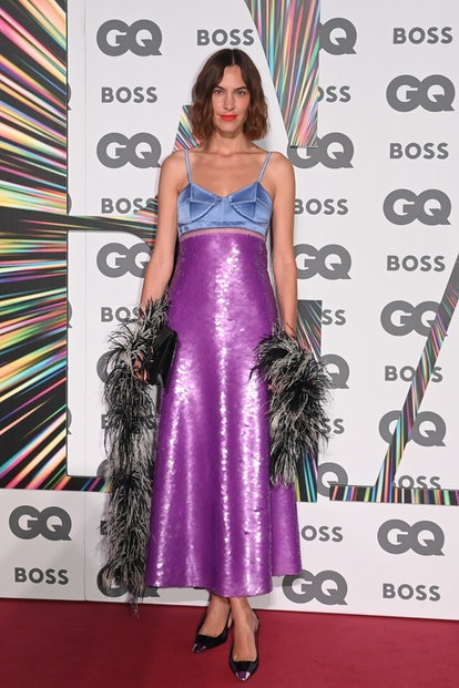 LONDON, ENGLAND - SEPTEMBER 01:   Alexa Chung attends the 24th GQ Men of the Year Awards in associat...