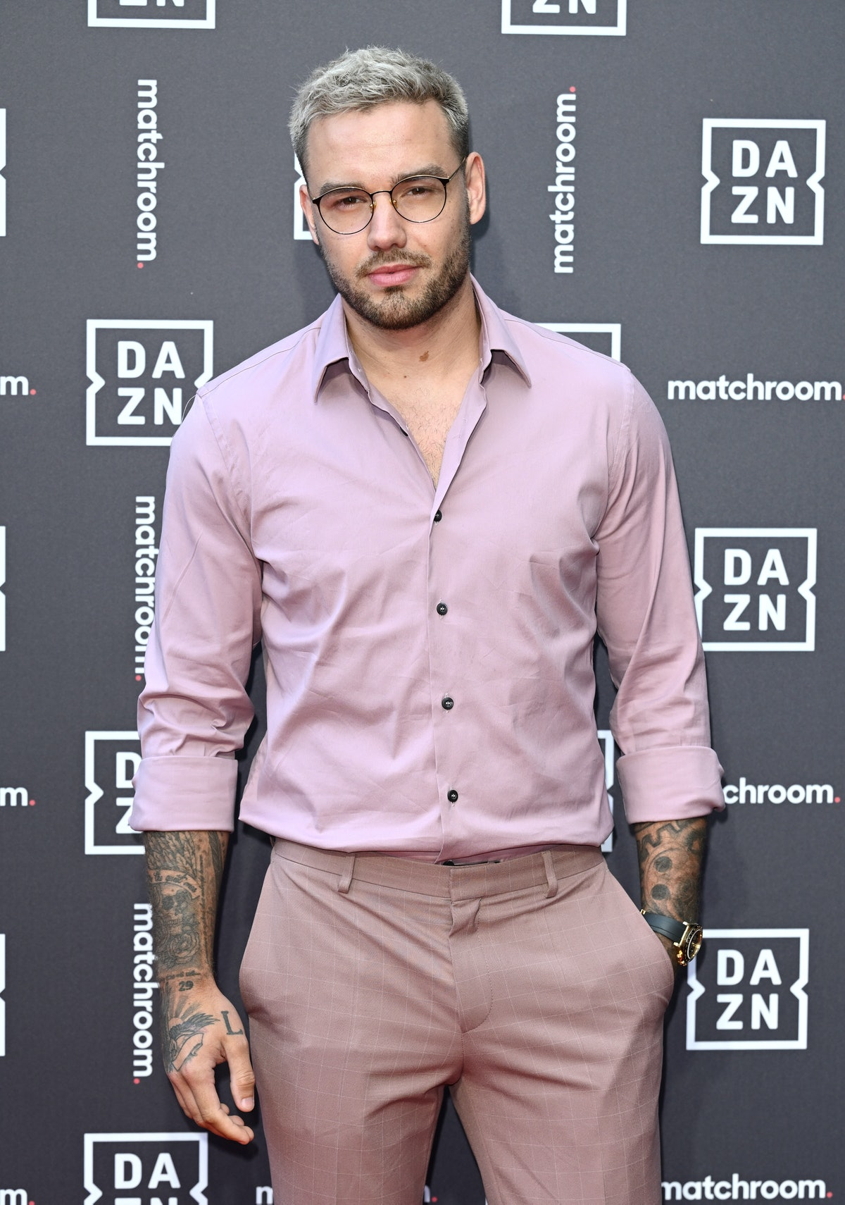 LONDON, ENGLAND - JULY 27: Liam Payne attends the Dazn x Matchroom VIP Launch Event at Kings Cross o...