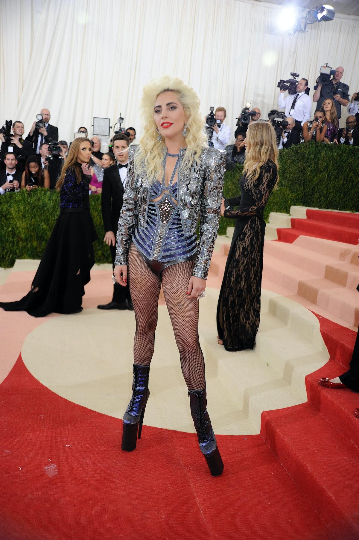 NEW YORK, NY - MAY 02:  Lady Gaga at Metropolitan Museum of Art on May 2, 2016 in New York City. (Ph...