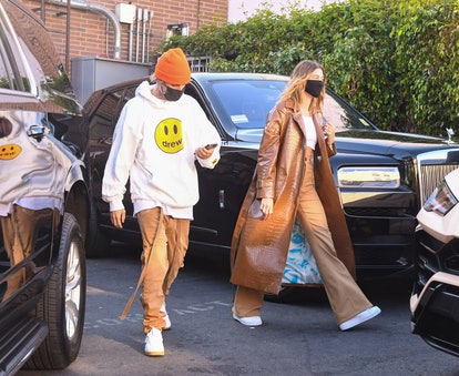 Dress as celebrity couple Hailey and Justin Bieber for Halloween