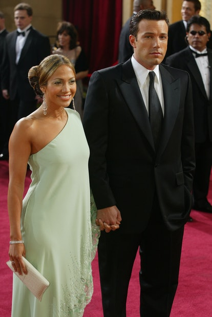 J Lo's mint green gown is an iconic Oscars look.