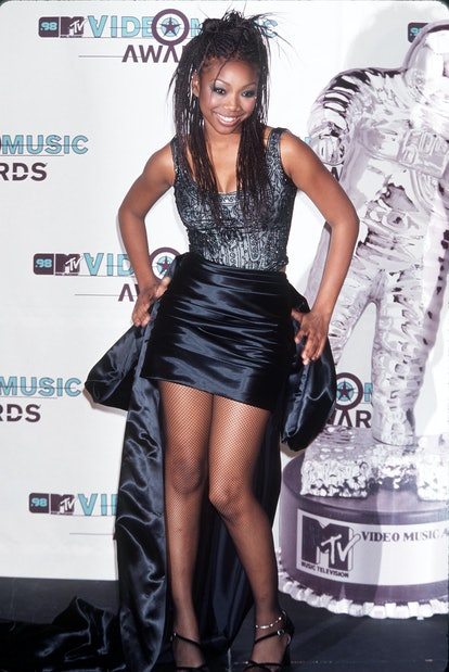 Brandy's braids were her signature in the 1990s — of course she wore them to the VMAs.