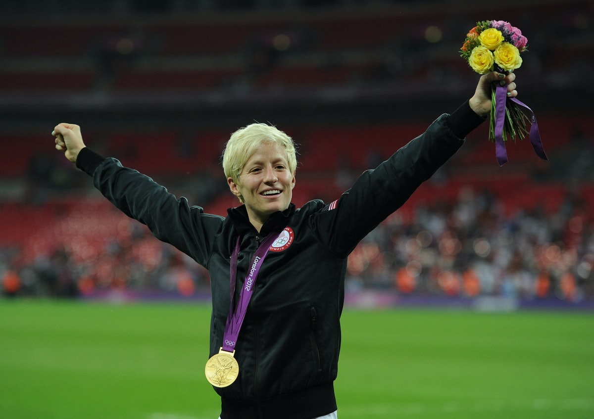 Megan Rapinoe publicly came out as gay in 2012.