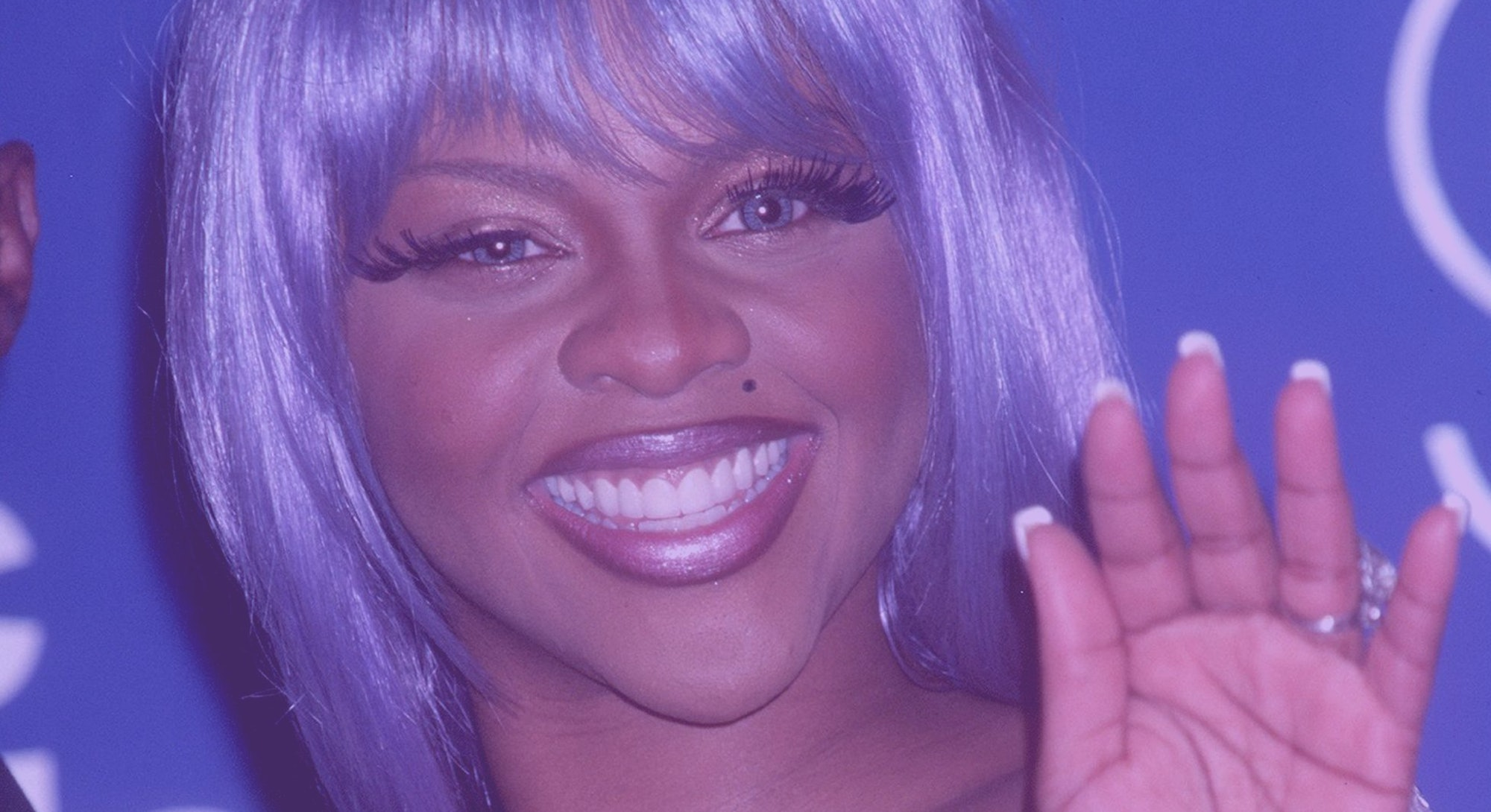 371945 02: FILE PHOTO: Rap Artist Lil'' Kim attends the 1999 MTV Video Music Awards September 9, 199...