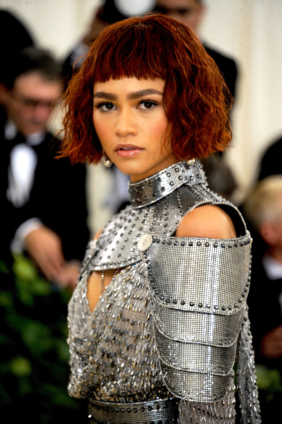 Zendaya attends The Heavenly Bodies: Fashion & The Catholic Imagination Costume Institute Gala at Me...