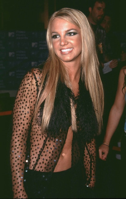 Britney Spears' pin-straight strands at the VMAs were so 1990s.