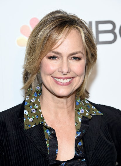 NEW YORK, NEW YORK - JANUARY 23: Melora Hardin attends NBC and The Cinema Society host a party For t...