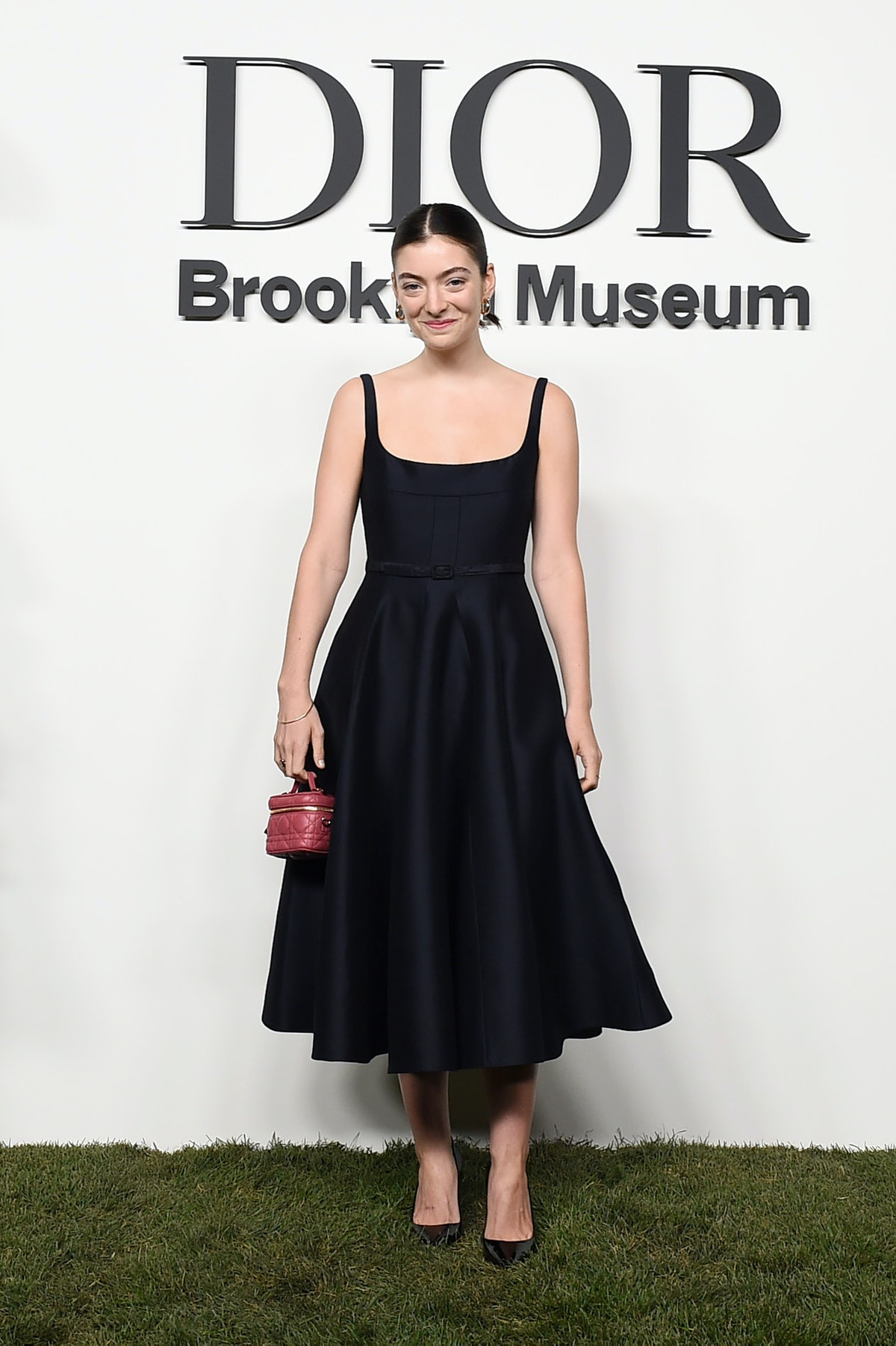 Lorde attends the Christian Dior Designer of Dreams Exhibition cocktail opening at the Brooklyn Muse...