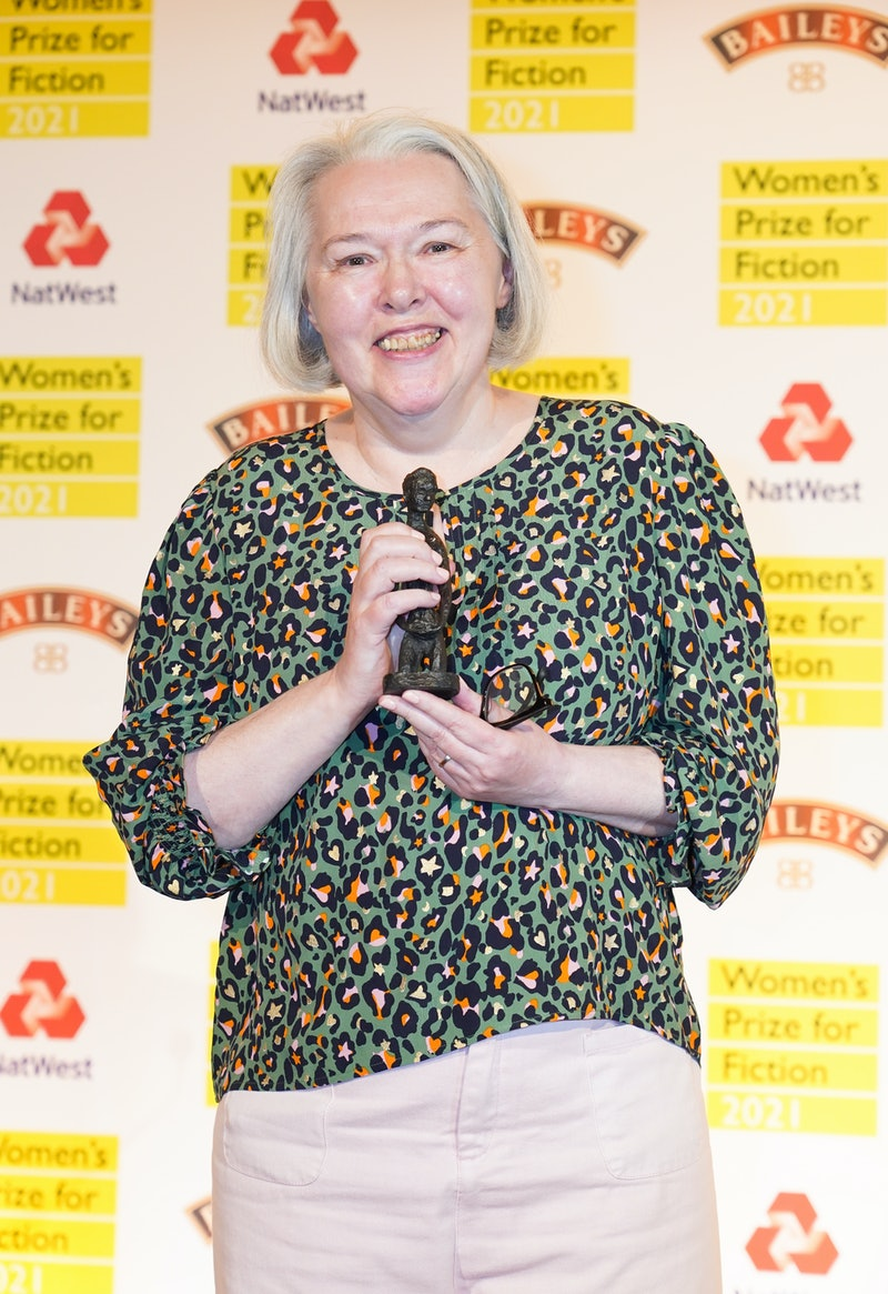 Susanna Clarke wins the Women's Prize for Fiction award 2021 for her book Piranesi at Bedford Square...