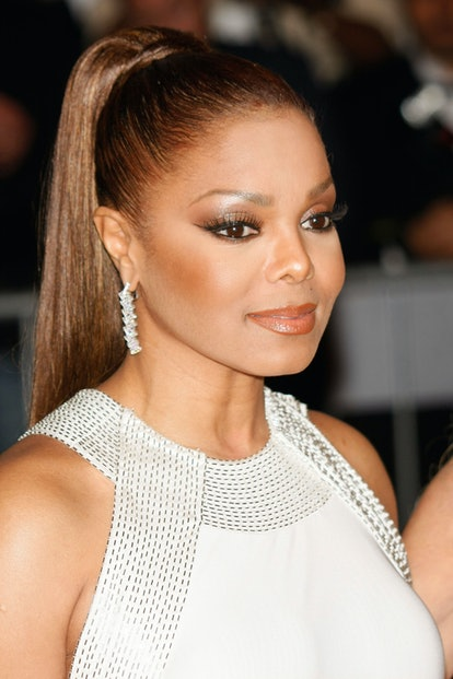 NEW YORK - MAY 5: Singer Janet Jackson attends Metropolitan Museum of Art Costume Institute Gal ...