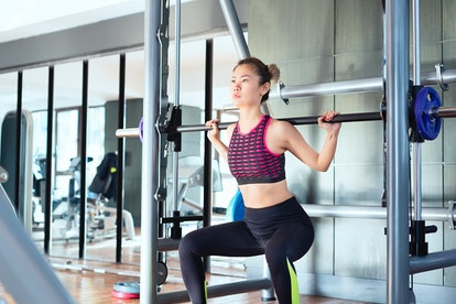 A guide on how to use gym equipment for beginners, including the Smith machine.