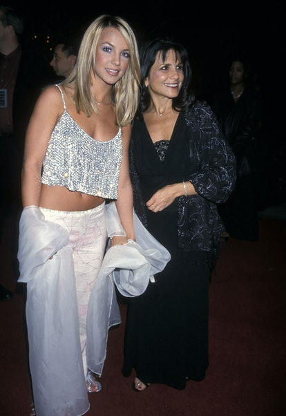 Singer Britney Spears and mother Lynne Spears attend the 42nd Annual Grammy Awards Pre-Party Hosted ...