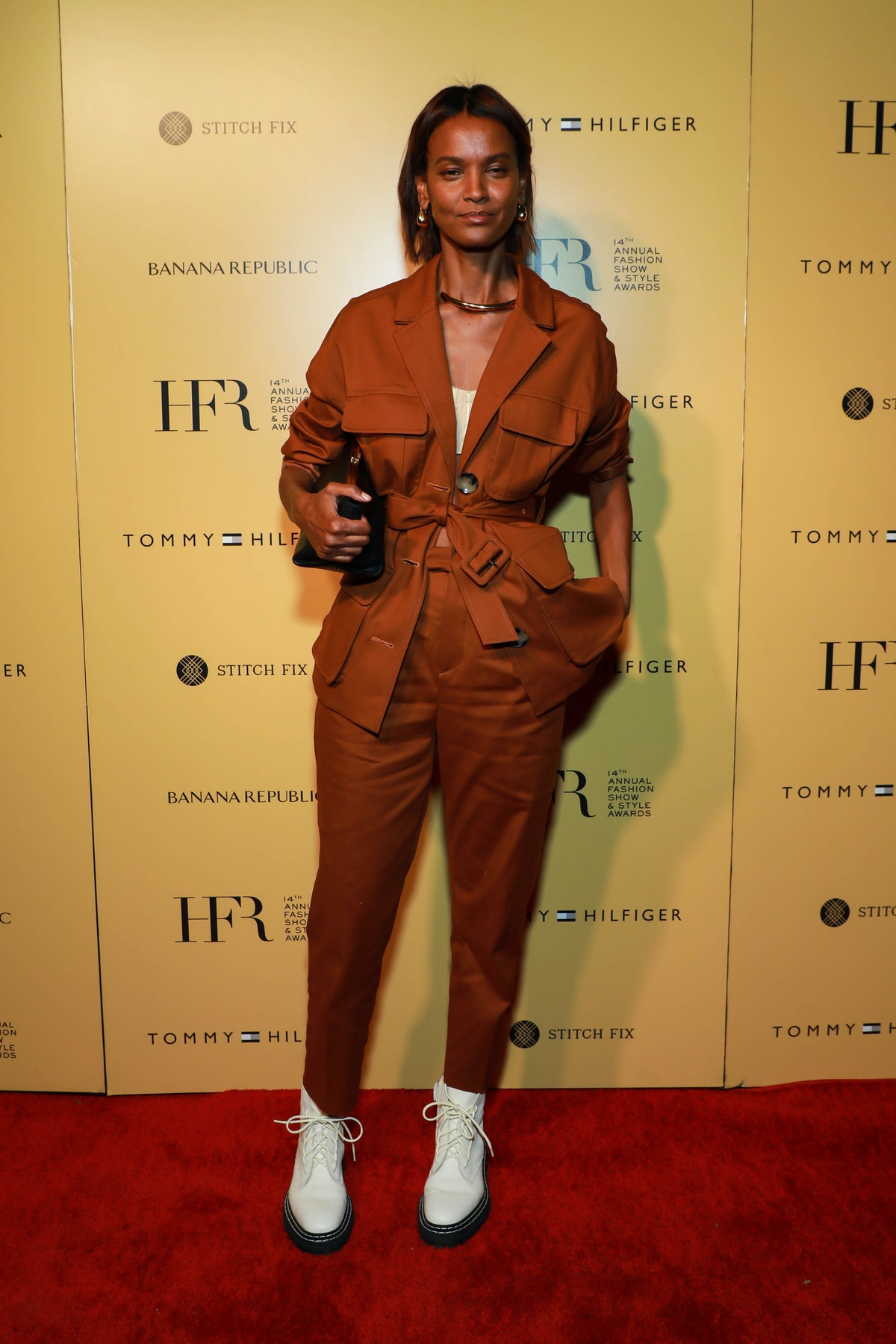 Liya Kebede attends Harlem's Fashion Row at New York Fashion Week: The Shows in New York City in Sep...