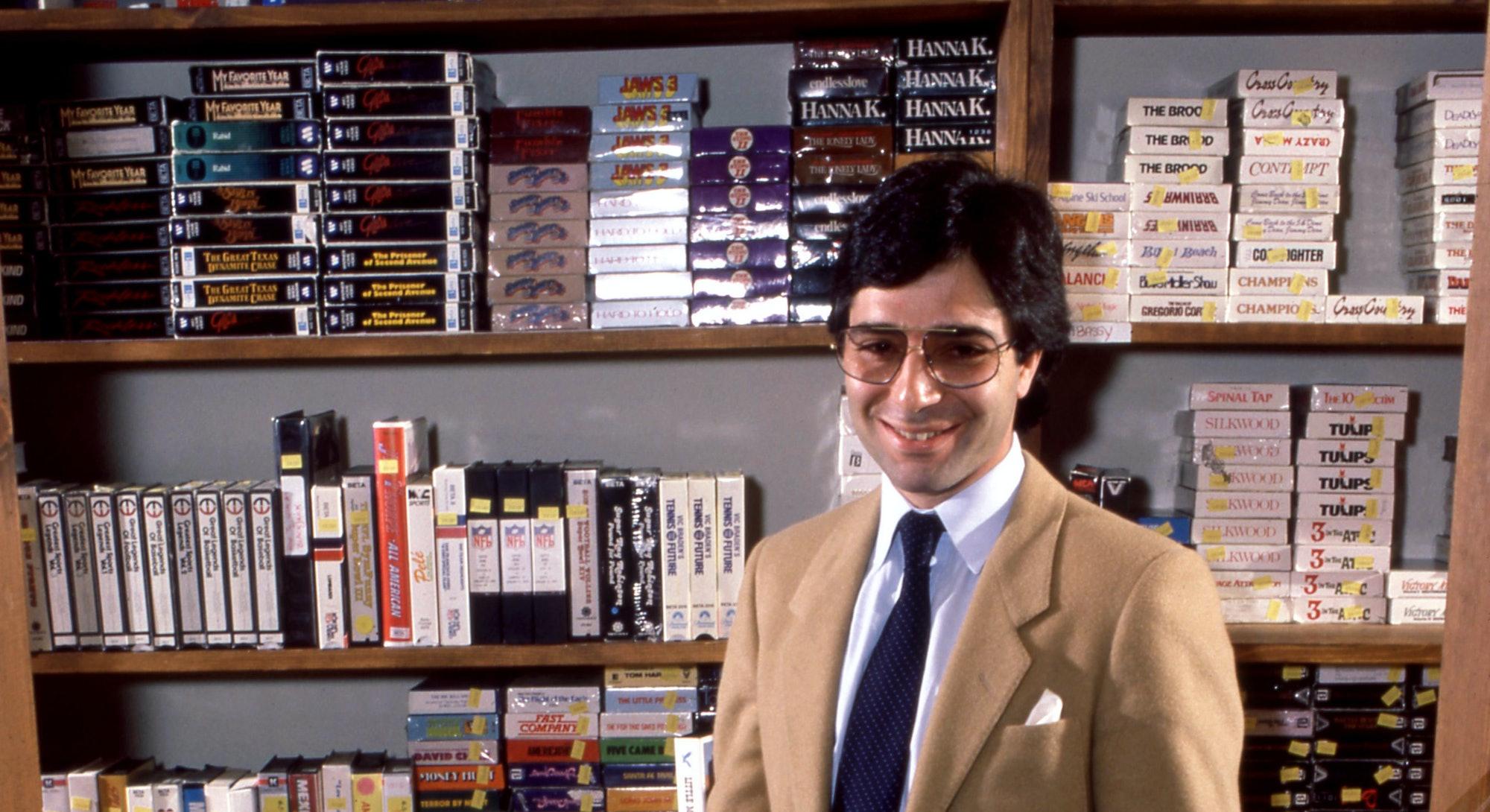 VCR VHS player shopping retro videos blockbuster