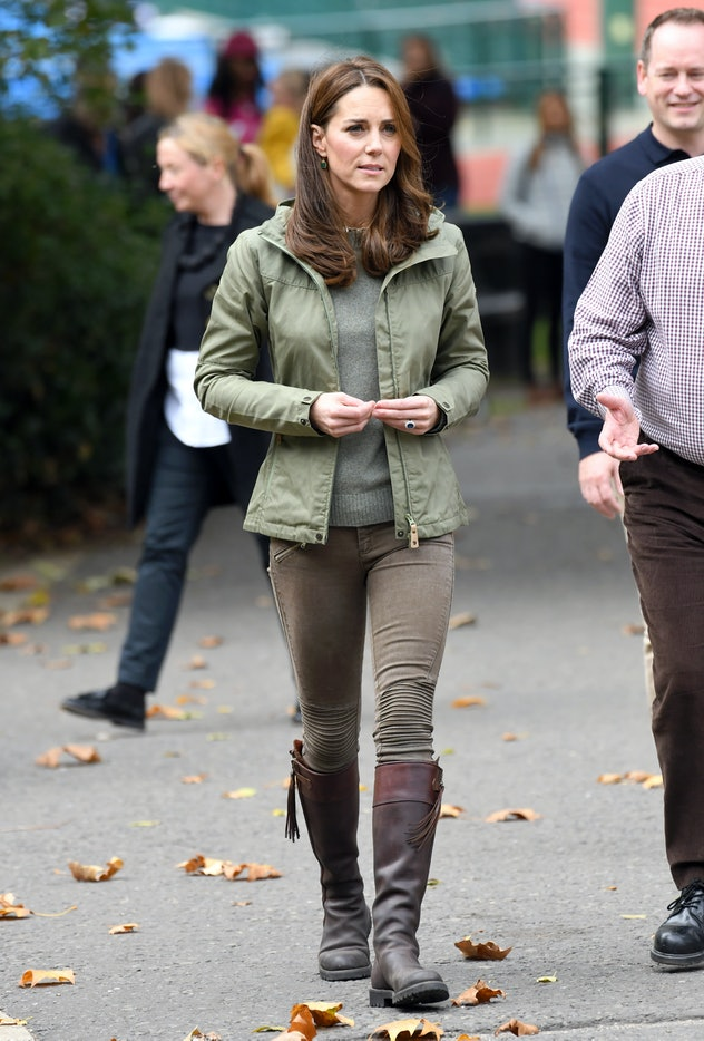 Kate Middleton's quintessential fall look.